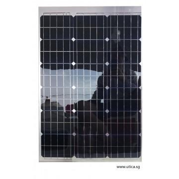 Semi-Flexible Solar Panel 50W by UTICA®